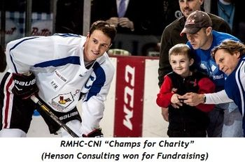 "2 - RMHC-CNI ""Champs for Charity""(Henson Consulting won for Fundraising)"