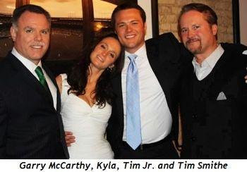 2 - Garry McCarthy, Kyla, Tim Jr. and Tim Smithe