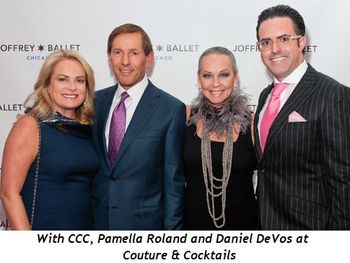 4 - With CCC, Pamella Roland and Daniel DeVos at Couture & Cocktails
