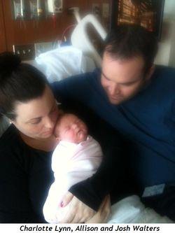 Charlotte Lynn, Allison and Josh Walters