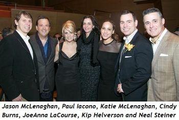 4 - ason McLenaghan, Paul Iacono, Katie McLenaghan, Cindy Burns, JoeAnna LaCourse, Kip Helverson, Neal Steiner