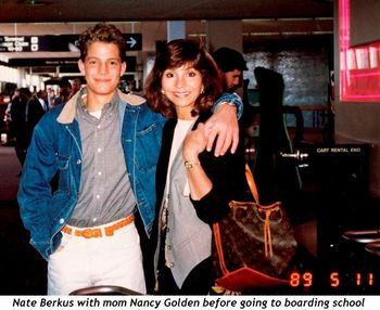 2 - Nate and Nancy Golden before going to boarding school