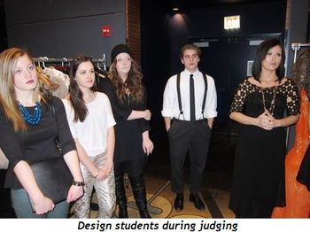 14 - Design students during judging