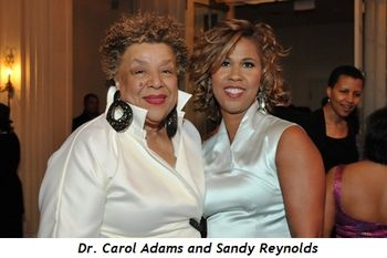 3 - Dr. Carol Adams pres-ceo of dusable museum and Sandy Reynolds, gala Chair
