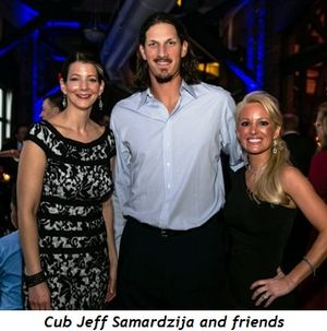 5 - Cub Jeff Samardzija and friends
