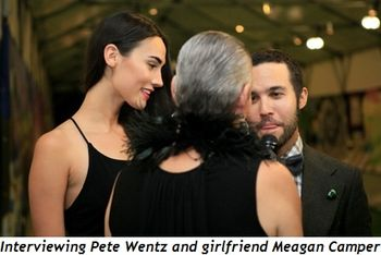 Blog 4 - Interviewing Pete Wentz and girlfriend Meagan Camper