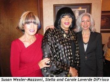 Blog 3 - Susan Wexler-Mazzoni, Stella and Carole Loverde DiFrisco