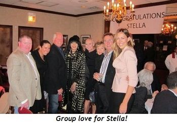 Group love for Stella!