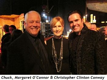 Blog 4 - Chuck, Margaret O'Connor and Joffrey Executive Director Christopher Clinton Conway