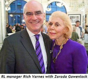 Blog 3 - RL manager Rich Varnes with Zarada Gowenlock
