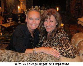 Blog 1 - With VS Chicago Magazine's Olga Ruda