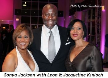 Blog 12 - Co-chair Sonya Jackson, Leon and Jacqueline Kinloch