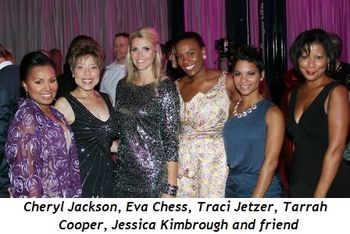 Blog 14 - Cheryl Jackson (Sonya's sis), Eva Chess, Traci Jetzer, Tarrah Cooper (Rahm's Press Secretary), Jessica  Kimbrough and friend.