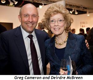 Blog 11 - Greg Cameron, Deirdre McBreen