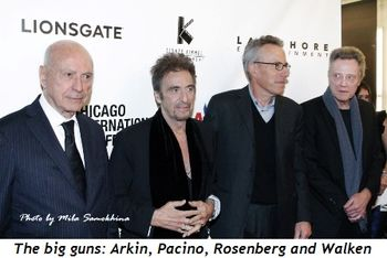 Blog 2 - The Big Guns—Arkin, Pacino, Rosenberg, Walken