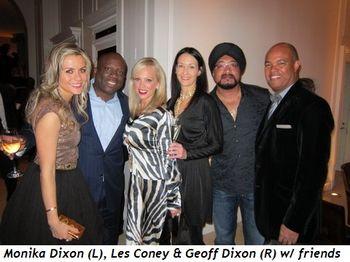 Blog 2 - Monika Dixon (L), Les Coney and Geoff Dixon (R) and friends