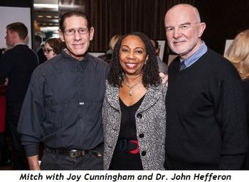 Blog 4 - Mitch, Joy Cunningham and Dr. John Hefferon