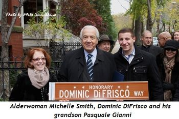 Blog 1 - Alderwoman Michelle Smith, Dominic and his grandson Pasquale Gianni