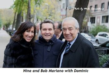 Blog 2 - Nina Mariano, Dominic DiFrisco and Bob Mariano