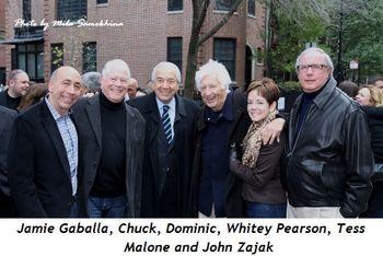 Blog 3 - Jamie Gaballa, Chuck, Whitey Pearson, Tess Malone and John Zajak