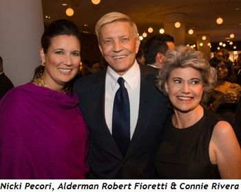 Blog 7 - Nicki Pecori, Alderman Robert Fioretti and Connie Rivera