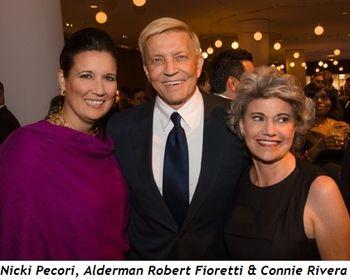 Blog 7 - Nicki Pecori, Alderman Robert Fioretti and Connie Rivera