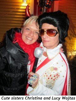 Blog 3 - Cute sisters, Christina and Lucy Wojtas