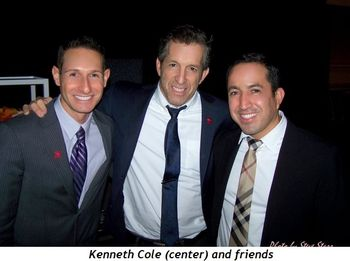 Blog 1 - Kenneth Cole (center) and friends