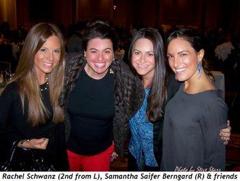 Blog 2 - Rachel Schwanz (2nd from L), Samantha Saifer Berngard (R) and friends