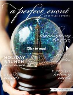 A Perfect E Magazine's Holiday Issue