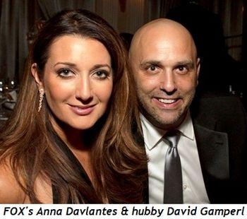 Blog 7 - FOX's Anna Davlantes & husband David Gamperl