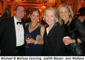 Blog 8 - Michael & Melissa Canning, Judith Blazer & Ann Wallace