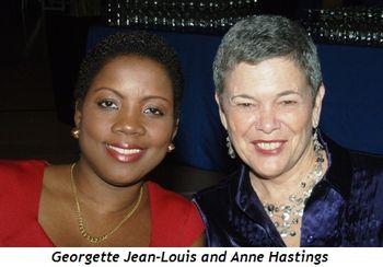 Georgette Jean-Louis and Anne Hastings