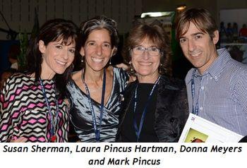 Susan Sherman - Laura Pincus Hartman - Donna Meyers - Mark Pincus