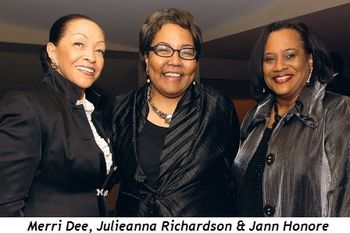 Blog 7 - Merri Dee, Julieanna Richardson and Jann Honore (United Negro College Fund)