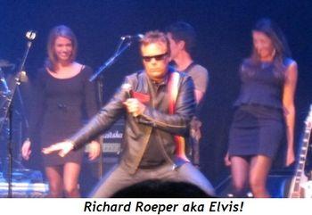 Blog 8 - Richard Roeper aka Elvis!