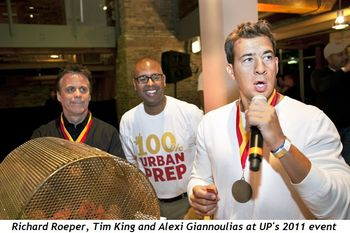 Blog 5 - Richard Roeper, Tim King and Alexi Giannoulias at UP's 2011 event