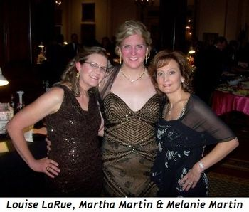 1 - Louise LaRue, Martha Martin and Melanie Martin