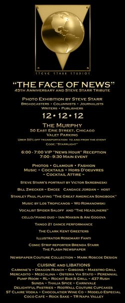Steve Starr Face of News Invite