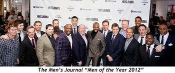 "2 - Men's Journal ""Men of the Year 2012"""