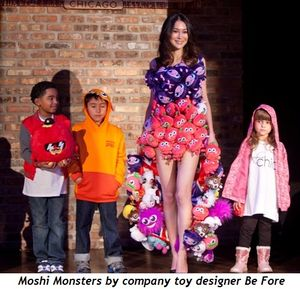 1 - Moshi Monsters by company toy designer Be Fore