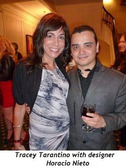 2 - Tracey DiBuono Tarantino with designer Horacio Nieto