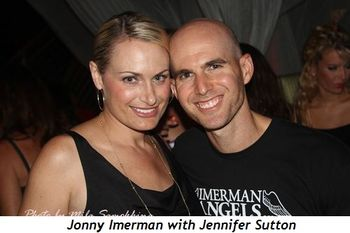 1 - Jonny Imerman with Jennifer Sutton