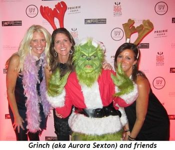 1 - Grinch (aka Aurora Sexton) and friends