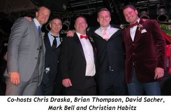 2 - Co-hosts Chris Draska, Brian Thompson, David Sacher, Mark Bell and Christian Habitz