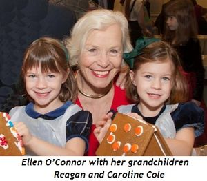 3 - Ellen O'Connor with her grandchildren Reagan and Caroline Cole