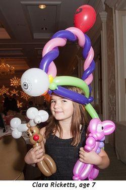 5 - Clara Ricketts, age 7