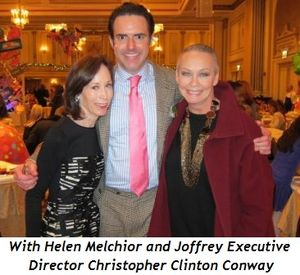 2 - With Helen Melchior and Joffrey Executive Director Christopher Clinton Conway