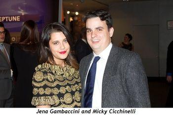 5 - Jena Gambaccini and Micky Cicchinelli