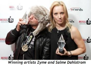 2 - Winning artists Zyme and Salme Dahlstrom